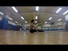 Gymnastics Ab Workout Part 2 - YouTube