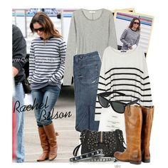 """""""Celebrity Style: Rachel Bilson"""" by sourcat on Polyvore"""