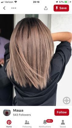 Pin of new hairstyles on hair color ideas in 2019 - .- Pin von neuen Frisuren auf Haarfarbe Ideen im Jahr 2019 – … – … Pin of new hairstyles on hair color ideas in 2019 … - Haircut And Color, Hair Color And Cut, New Hair Colors, Hair Colour, Colour Colour, Pinterest Hair, Pinterest Blog, Hairstyles Haircuts, Bob Haircuts