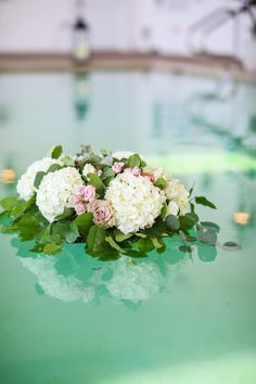 Floating flowers and candle can add another level of beauty to your garden wedding. Floating Flowers, Garden Wedding, Candles, Weddings, Inspiration, Beauty, Biblical Inspiration, Bodas, Hochzeit