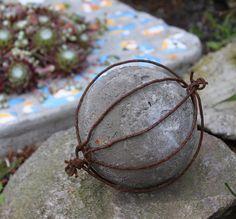 Betonkugel... für den Garten