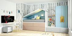 Dormitorio juvenil (1066 – J22) - Muebles CASANOVA