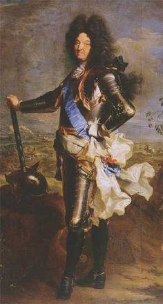 Louis XIV Bourbon King of France 1701 by Hyancinthe Rigaud Museo Nacional del Prado Madrid Louis Xiv, Roi Louis, French History, European History, Art History, Ludwig Xiv, Tableaux Vivants, Chateau Versailles, Royals