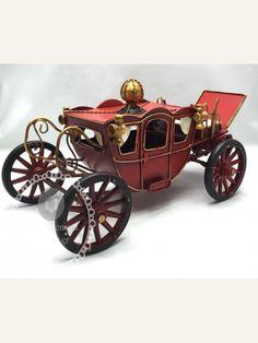 Μεταλλικό διακοσμητικό τραπεζιού μυθική άμαξα Antique Cars, Antiques, Vintage Cars, Antiquities, Antique, Old Stuff