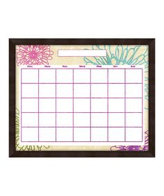 Take a look at this Pastel Floral Monthly Memo Board by PTM Images on #zulily today! $29.99, usually 80.00