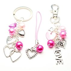 Love Hearts Accessories making kit - perfect for Valentines Day!