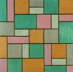 """""""Composition 17"""" by Theo van Doesburg (1919)"""