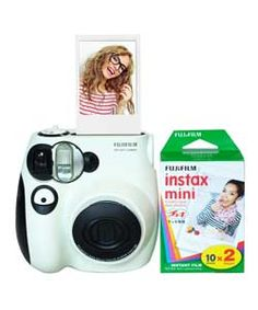 Buy Fujifilm Instax Mini 7 Camera Bundle with 20 Film Pack at Argos.co.uk - Your Online Shop for Instant cameras.