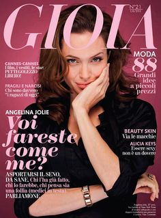 Angelina this Magazine Cover has my daughters name.