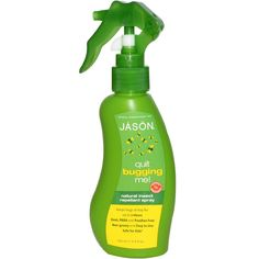 Jason Natural, Quit Bugging Me!, Natural Insect Repellant Spray, 4.5 fl oz (133 ml) - iHerb.com