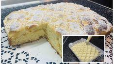 Koláč z nebies: Jeden úžasný jemný vanilkový mrežovník s krémom, každé sústo sa rozpadáva na jazyku! Waffles, Sweet Tooth, Kefir, Pie, Bread, Breakfast, Recipes, Food, Torte