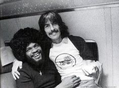 George with the great Billy Preston