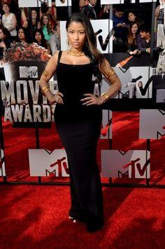 Nicki Minaj in nero