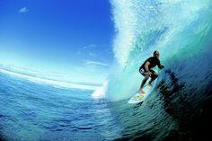 Surfing the Malolo Reef - Plantation Island, #Fiji via BeautifulPacific.com