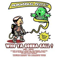 Paranormal Pest Exterminators by Ninjaink #Ghostbusters #WhoYaGonnaCall