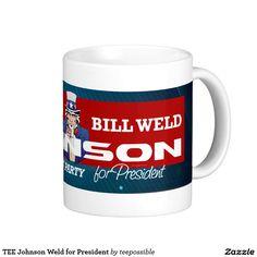 Libertarian Party ticket of Gary Johnson, Bill Weld for President Coffee Mug