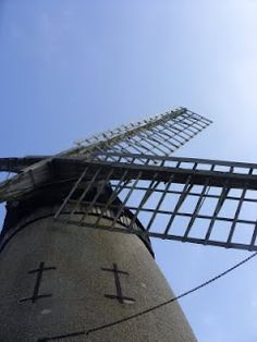 Bidston Hill windmill, Birkenhead, Wirral, England where my Grandfather proposed to my Grandma. Most Beautiful Beaches, Beautiful Places, Places Ive Been, Places To Go, New Brighton, Windmills, Day Trips, Liverpool, Scenery