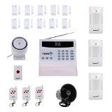 Fortress Security Store (TM) S02-B Wireless Home Security Alarm System Kit with Auto Dial + Outdoor Siren @ securepersonalprotection.com