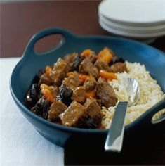 This delicious stew is rich, sweet and comforting. If you've never tried beef with fruit before, give this recipe a go – you'll be surprised how well the flavours merge.