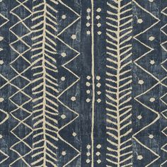 Galapagos - Lapis - Conversationals - Fabric - Products - Ralph Lauren Home Tribal Patterns, Pretty Patterns, Beautiful Patterns, Art Patterns, Motifs Textiles, Textile Patterns, Pattern Art, Pattern Design, Etnic Pattern