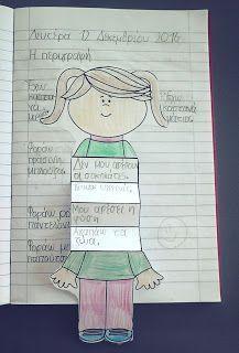 Ο φίλος μας ο Μήτσος... ή πώς περιγράφουμε ένα πρόσωπο. (Β' τάξη, κεφ. 12) Writing Strategies, Writing Resources, Writing Activities, Writing Skills, Alphabet Activities, Elementary Teacher, Elementary Schools, Kids Education, Special Education