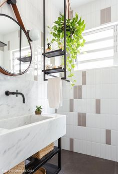 Bathroom decor for the bathroom remodel. Learn master bathroom organization, bathroom decor suggestions, master bathroom tile some ideas, bathroom paint colors, and more. Mold In Bathroom, Bathroom Faucets, Small Bathroom, Bathroom Ideas, Remodel Bathroom, Minimal Bathroom, Marble Bathrooms, Bathroom Cleaning, Shiplap Bathroom