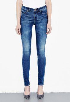 Bodycon 5 Pocket Jean - High rise, skinny leg - Orme - MiH Jeans Gigi f2e7861ab7