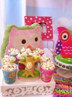 owl dixie cups.. need to buy