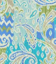 Home Decor Print Fabric- Waverly Splash of Color Celestial,