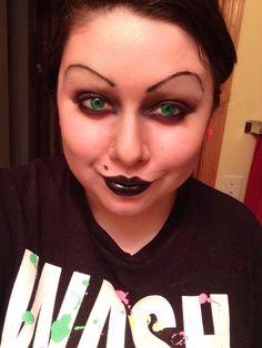 Halloween Creepy Doll Makeup Tutorial ♡ Bride Of Chucky Inspired ...