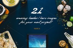 Check out 21 Hero/Header images Vol.2 by Madebyvadim on Creative Market