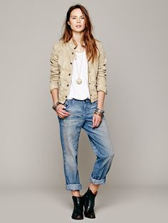 Free People Fitted Utility Jacket http://www.freepeople.co.uk/whats-new/fitted-utility-jacket/