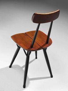 Ilmari Tapiovaara, Pirkka Chair Furniture Ideas, Furniture Design, Stool, Chair, Table, Home Decor, Chairs, Furniture, Decoration Home