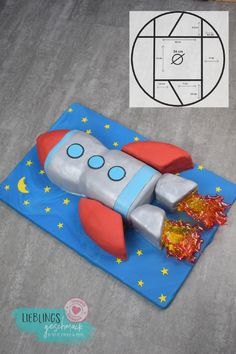 Raketen Torte - Motivtorten - Raketen Torte The Effective Pictures We Offer You About space wallpaper A quality picture can tell - Sailor Moon Cakes, Oreo Cookie Cake, Rocket Cake, Moon Cake Mold, Cake Festival, Galaxy Cake, Cake Kit, Cake Packaging, Candy Brands