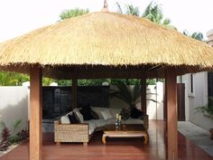 Island Thatch Gallery :: Island Thatch are Manufaturers of Bali Hut Kits, Balinese Gazebos, African Huts and Roofing Thatch Products Outdoor Cabana, Outdoor Pavilion, Outdoor Decking, Pool Cabana, Diy Gazebo, Patio Gazebo, Backyard, Garden Huts, Garden Nook