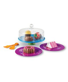 Another great find on #zulily! New Sprouts® Just Desserts Toy Set by New Sprouts #zulilyfinds