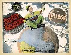 "Buster Keaton ""College"" - saw this at theatre with live piano - amazing!"