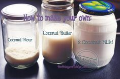 Making Coconut Milk, Coconut Butter and Coconut Flour