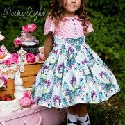 Alyss Dress from Tula Pink Selfie Fabric