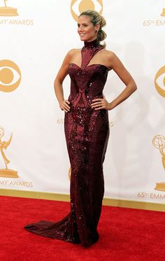 Heidi Klum - Atelier Versace Glam Dresses, Dresses 2013, Nice Dresses, Formal Dresses, Heidi Klum, Red Carpet Looks, Red Carpet Fashion, Beautiful Gowns, Celebrity Dresses