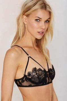 SKIVVIES Honeysuckle Bondage Bra - Bras + Bralettes | For Love and Lemons | SKIVVIES