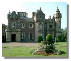 Scotland Abbotsford - home of Sir Walter Scott