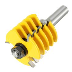 Drillpro RB33 1/2 Inch Shank Finger Joint Router Bit Woodworking Chisel Cutter