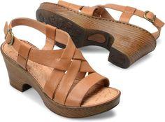 beeabc12687c9 Born Carmo in Luggage - Born Womens Sandals on Bornshoes.com Women s Shoes  Sandals