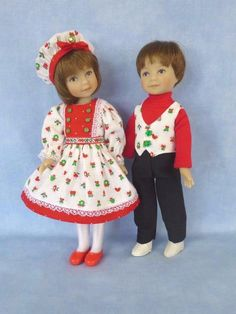 """Christmas Presents for Dianna Effner 8"""" Heartstring Dolls by Apple"""