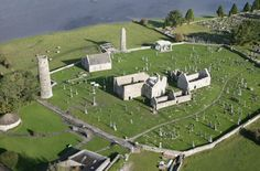 The Early Christian monastic site at Clonmacnoise, Ireland