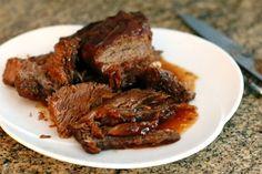Succulent Crock Pot BBQ Beef Brisket