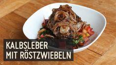Kalbsleber mit Röstzwiebeln – Paleo360.de