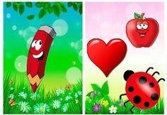 . School Fun, School Ideas, Color Games, Sorting, Colors, Red, Activities, Fle