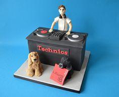 DJ cake - Coocakecachoo